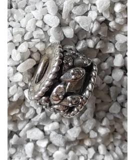 Charm -abalorio plata-ramaje